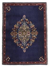 Keshan Sag 68X96 Autentični  Orijentalni Ručno Uzlan Tamnoljubičasta/Tamnosmeđa (Vuna, Perzija/Iran)