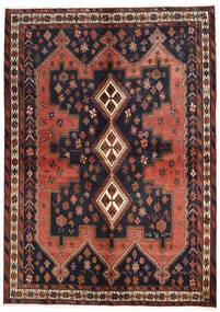 Afshar Sag 160X225 Autentični Orijentalni Ručno Uzlan Tamnosiva/Tamnocrvena (Vuna, Perzija/Iran)
