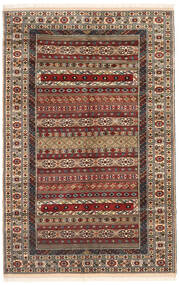 Turkaman Sag 162X246 Autentični Orijentalni Ručno Uzlan Tamnosmeđa/Svjetlosmeđa (Vuna, Perzija/Iran)