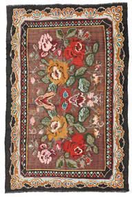 Rosekelim Moldavia Sag 134X204 Autentični Orijentalni Ručno Tkani Tamnocrvena/Crna (Vuna, Moldavija)