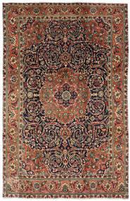 Tabriz Sag 196X308 Autentični Orijentalni Ručno Uzlan Tamnosmeđa/Tamnosiva (Vuna, Perzija/Iran)