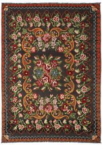 Rosekelim Moldavia Sag 191X282 Autentični Orijentalni Ručno Tkani Crna/Tamnozelena (Vuna, Moldavija)