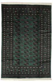 Pakistan Bokhara 3Ply Sag 190X275 Autentični  Orijentalni Ručno Uzlan Crna (Vuna, Pakistan)