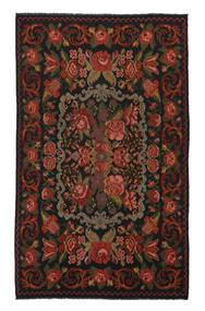 Rosekelim Moldavia Sag 208X340 Autentični  Orijentalni Ručno Tkani Crna/Bijela/Krem (Vuna, Moldavija)