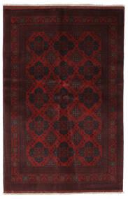 Afghan Khal Mohammadi Sag 130X198 Autentični  Orijentalni Ručno Uzlan Crna (Vuna, Afganistan)