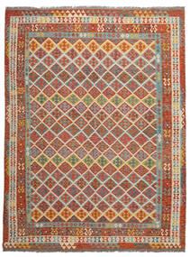 Ćilim Afghan Old Style Sag 278X364 Autentični  Orijentalni Ručno Tkani Tamnosmeđa Veliki (Vuna, Afganistan)