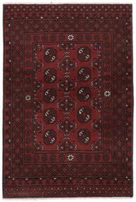 Afghan Sag 100X150 Autentični  Orijentalni Ručno Uzlan Crna (Vuna, Afganistan)