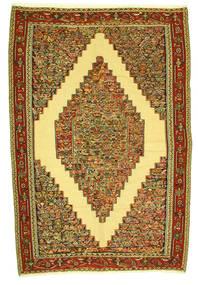 Ćilim Senneh Sag 198X292 Autentični  Orijentalni Ručno Tkani (Vuna, Perzija/Iran)